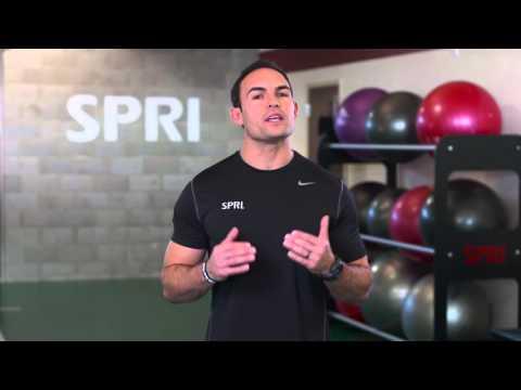 SPRI Braided Xertube: Squat Exercise
