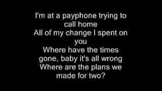 Download Maroon 5 - Payphone Lyrics Mp3