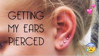 PIERCING MY EARS!!! Vlog # 13