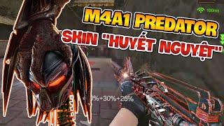 CF Mobile / CF Legends : M4A1 Predator Skin Huyết Nguyệt Mới || M4A1 Predator Punk
