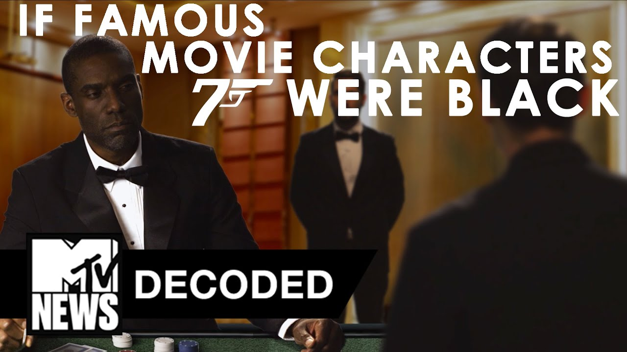 If Famous Movie Characters Were Black | Decoded | MTV News