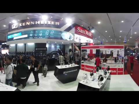 Pameran Gadget Indocomtech 2016 - 360 Video