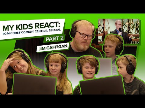 """MY KIDS REACT TO MY FIRST Comedy Central Special"" (Part 2) - Jim Gaffigan"