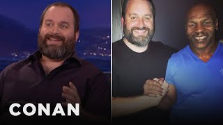 Tom Segura's Mid-Air Meeting WIth Mike Tyson  - CONAN on TBS