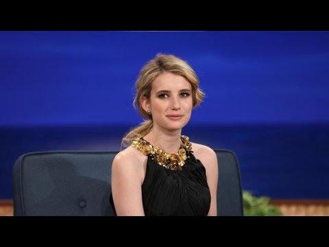 Emma Roberts Interview Part 01 - Conan on TBS