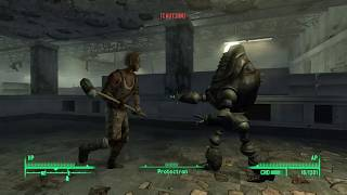 Fallout 3: Super Duper Mart Protectron vs Raiders