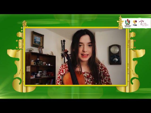 #ConcursodeViolin | Ana Gabriela Rodríguez, finalista del III Concurso Internacional de Violín