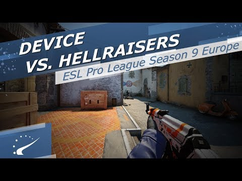 device vs. HellRaisers - ESL Pro League Season 9 Europe