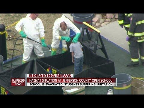 Hazmat situation at JeffCo Open School