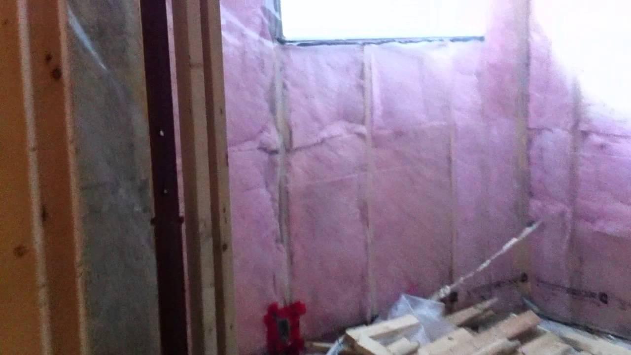 vapor barrier bathroom walls