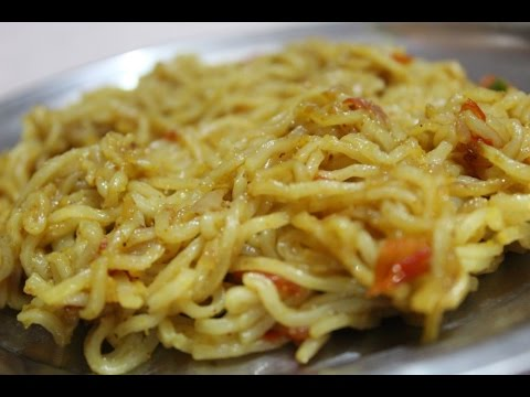 Maggi Masala Noodles - How To Make Spicy Maggi Masala Noodles - Maggi Masala Recipe