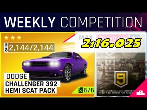 Asphalt 9 Weekly Competition - City by the Bay with HEMI!!! [2