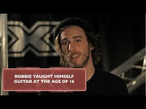 The X Factor UK 2012 - Exclusive Backstage Interview with Robbie Hance