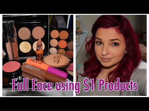 Full Face of $1 Makeup from Miss A | Part 2 | Cerise1307 |