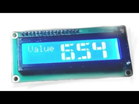 How to print Big number/ integer on 16x2 lcd with Arduino Uno || Arduino  Tutorial