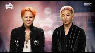 g dragon and taeyang have taken part in infinity challenge