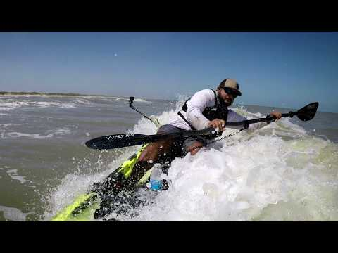 Offshore Kayak Fishing | How I Handle The Surf Part 2