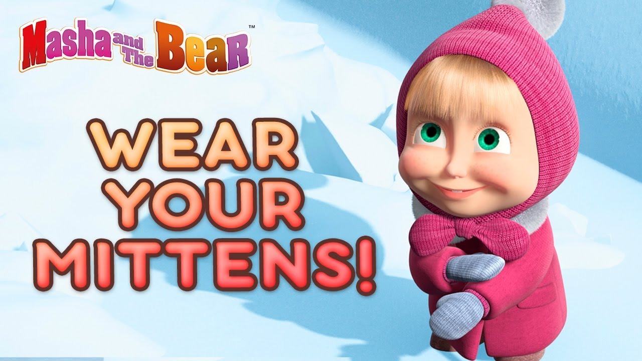 Download Masha and the Bear ☃️ WEAR YOUR MITTENS! 🥶 Best winter episodes collection 🎬 Cartoons for kids