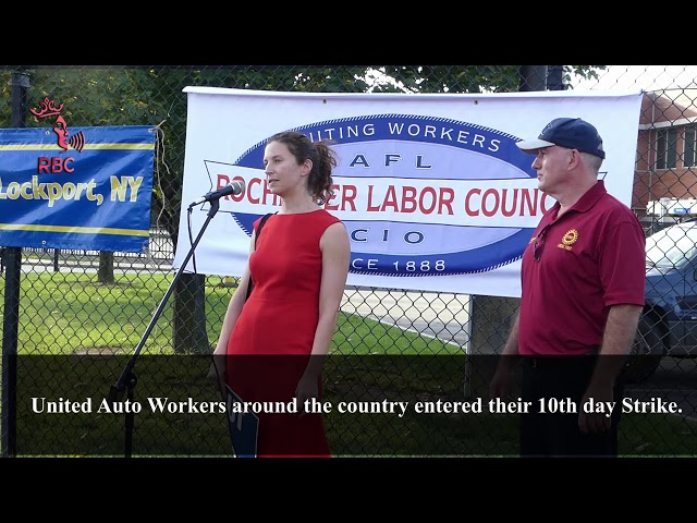 United Auto Workers around the country entered their 10th day Strike United Auto Workers