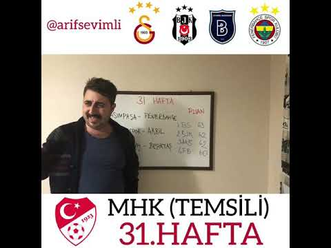 Süper Lig 31.Hafta