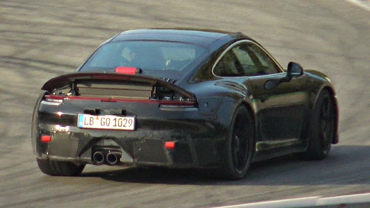 Next Gen 2020 Porsche 992 Gt3 Touring Testing Hard At Monza Flat Six Na Manual Gearbox