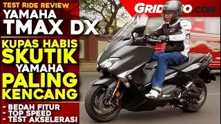 Yamaha TMAX DX 2018 | Test Ride Review | GridOto
