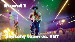 Round 1  - Fortnite tournament!!