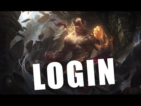 Lee Sin Punho Divino - Tema de Login