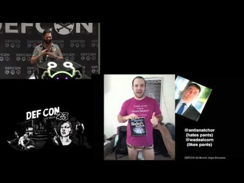DEF CON 23 -  Christian Frichot - Hooked: Browser Meshed Networks with WebRTC and BeEF