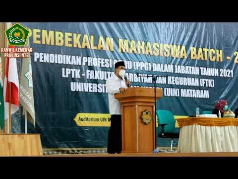 Pembekalan Mahasiswa Batch-2 Pendidikan Profesi Guru Dalam Jabatan Tahun 20021