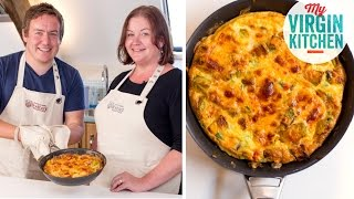 Welsh Rarebit Frittata Recipe - Visit To Wales!