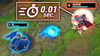 "INSTANT QSS MONTAGE - Best ""Frame Perfect"" Reflexes - League of Legends"