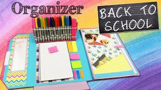 DIY FOLDER ORGANIZER - BACK TO SCHOOL| aPasos Crafts DIY