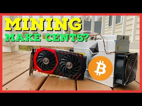 Does Cryptocurrency Mining Make Cents Anymore?! GPU Vs ASIC Vs Speculative Mining