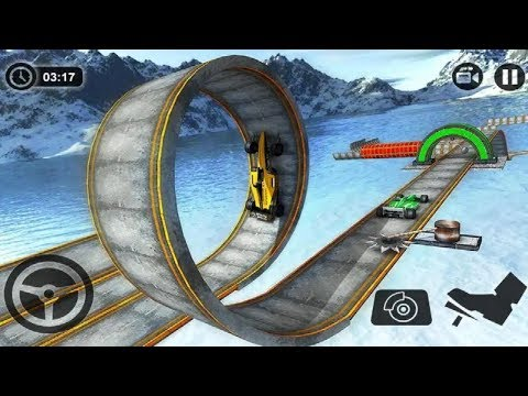 Impossible Formula Car Stunt Racing Game #Android GamePlay FHD #Car Games To Play #Games Download thumbnail