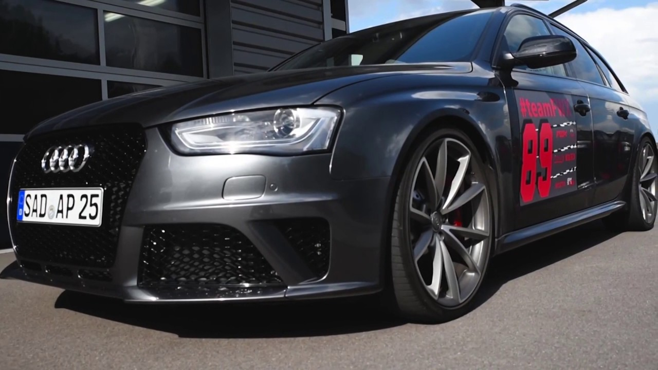 500ps Audi Rs4 B8 Avant W Armytrix Cat Back Exhaust Tuned By Fwx