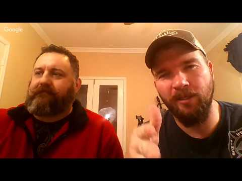 Live Stream- Stephen Cox with Beard in Review Chris Odom