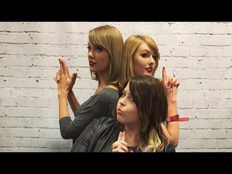 Taylor Swift Meets Look-a-Like Fan In Australia
