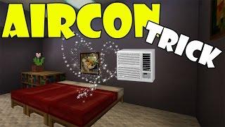 AIR CONDITIONER TRICK | Minecraft PE (Pocket Edition) MCPE