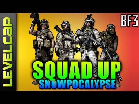 Squad Up - Snowpocalypse Alborz Mountain (Battlefield 3 Gameplay/Commentary)