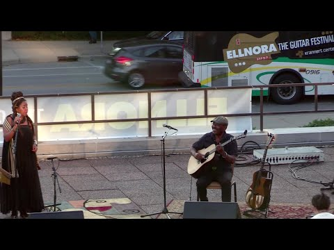 Toko Telo @ Ellnora Guitar Festival 2019, Opening Night Party at KCPA Amphitheatre, 2 songs