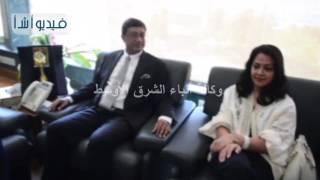 بالفيديو: محافظ مطروح يستقبل سفير الهند  و ذلك لافتتاح عدد من المشروعات بالمحافظه