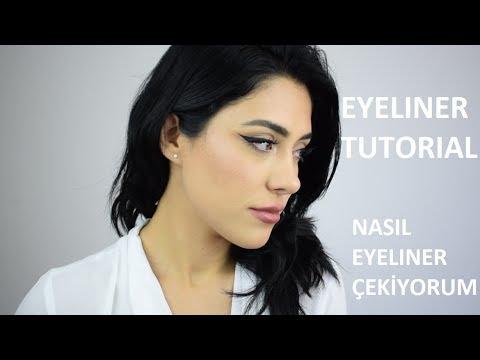 Eyeliner Nasıl Çekilir Tutorial // NYC Liquid Eyeliner