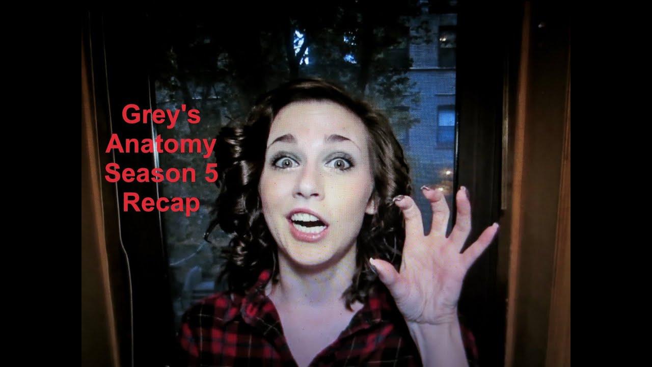 GREY'S ANATOMY SEASON 5 RECAP! (by @CandidCrandell)