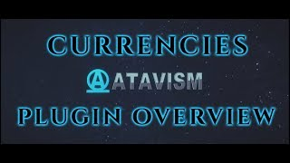 Atavism Online - Plugin Overview - Currencies