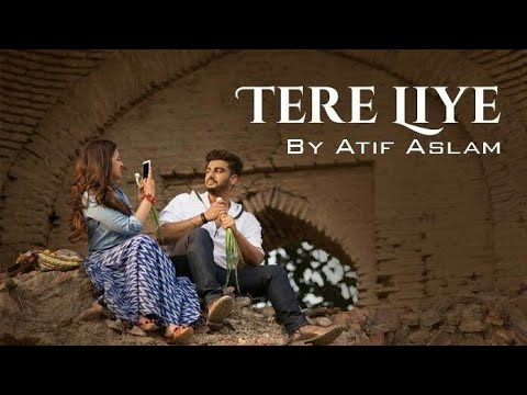 Tere Liye Lyrics Video💝Atif Aslam💝Namaste England