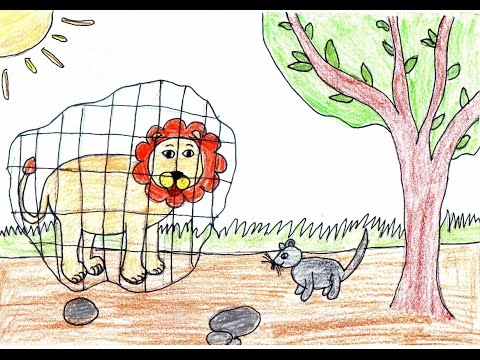Le lion et le rat lena 28 10 2016 youtube - Dessin le lion et le rat ...