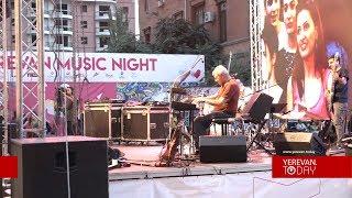 Yerevan Music Night. Բացօթյա երաժշտական հրավառություն՝ մայրաքաղաքում