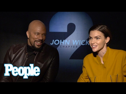 Ruby Rose Says Keanu Reeves Might Be A Vampire?! | People NOW | People
