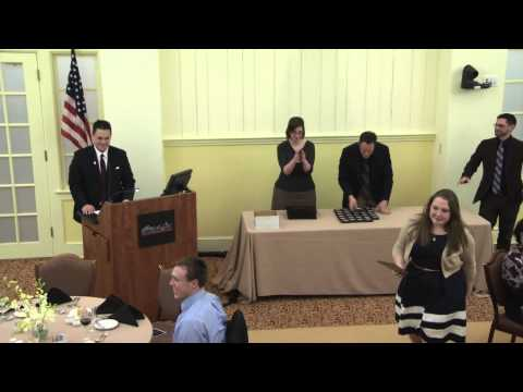 Phi Beta Kappa Induction Ceremony; Highlights